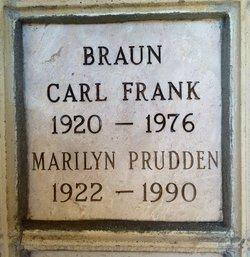 Mary <i>Prudden</i> Braun