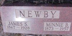Minnie B <i>Harrod</i> Newby