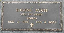 Corp Eugene Pete Acree