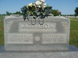Willie B Adkison