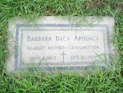 Barbara <i>Baca</i> Apodaca