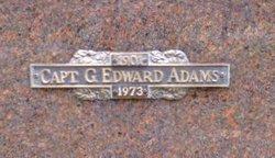 Capt G. Edward Adams