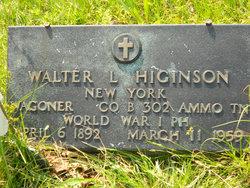 Walter Louis Higinson