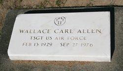 Sgt Wallace Carl Allen