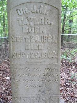 Dr J. M. Taylor