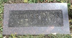 Maud G <i>Wood</i> Stevens