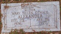 Mary Helen <i>Oswald</i> Alexander