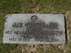 Sgt Jack Winton Aeby