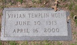 Vivian Freda Viv <i>Templin</i> Moen