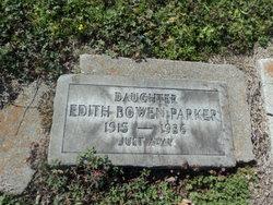 Edith <i>Bowen</i> Parker
