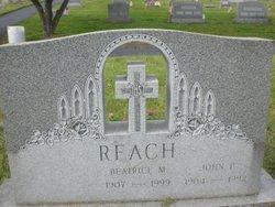 Beatrice M Reach