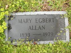 Mary <i>Egbert</i> Allan