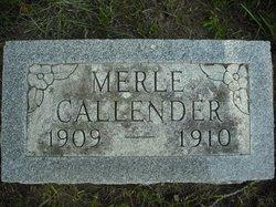 Merle Callender