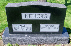 Dr Howard Carl Neucks