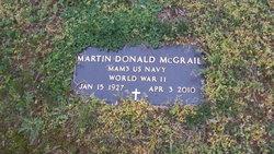 Martin D McGrail