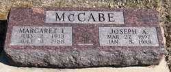 Margaret L McCabe