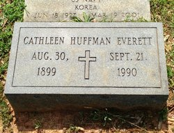 Cathleen F. <i>Huffman</i> Everett