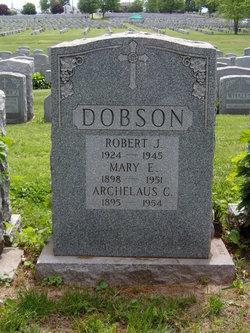 Sgt Robert J Dobson