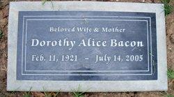 Dorothy Alice <i>Belyea</i> Bacon