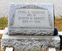 Ethel E. <i>Goodson</i> Abbott