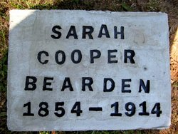 Sarah <i>Cooper</i> Bearden