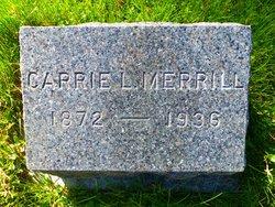 Carrie Lillian <i>Gooding</i> Merrill