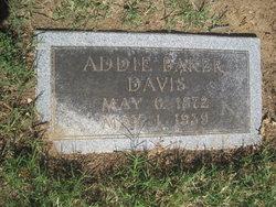 Addie <i>Baker</i> Davis