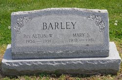 Rev Alton W Barley