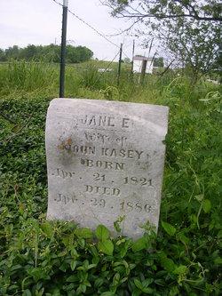 Jane E Kasey
