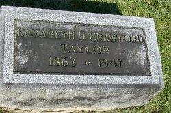 Elizabeth Hawley <i>Crawford</i> Taylor