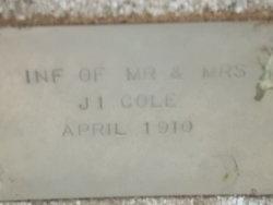 Inf of Mr & Mrs J I Cole