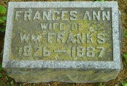 Frances Ann <i>Markley</i> Franks