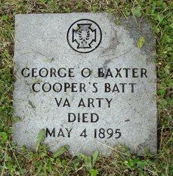 Pvt. George O. Baxter