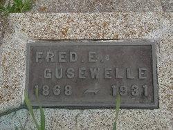 Fred E Gusewelle
