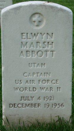 Capt Elwyn Marah Abbott