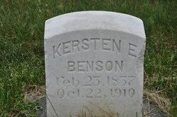 Kirsten <i>Ericksen</i> Benson