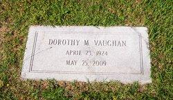 Dorothy Maxine Teedy Vaughan