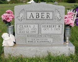 Clara J <i>Kennon</i> Aber