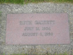 Ruth <i>Connor</i> Garrett