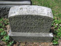 Bertha Henrietta <i>Schulz</i> Ruck