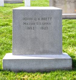 Maj John Quincy Adams Brett