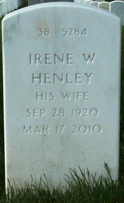 Irene W <i>Henley</i> Abbott