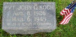 Pvt John Greeley Jack Koch
