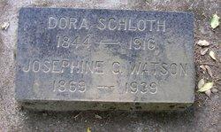 Dora <i>Jensch</i> Schloth