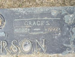 Grace Syble <i>Dean</i> Anderson