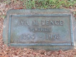 Iva Mildred <i>Foster</i> Benge