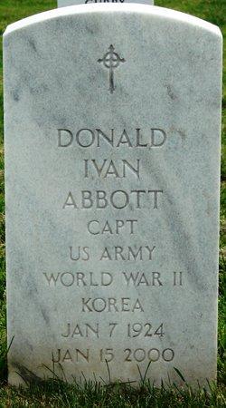 Donald Ivan Abbott