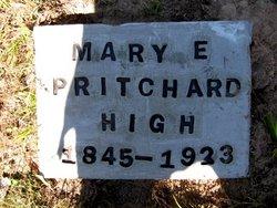 Mary Elizabeth Mollie <i>Pritchard</i> High
