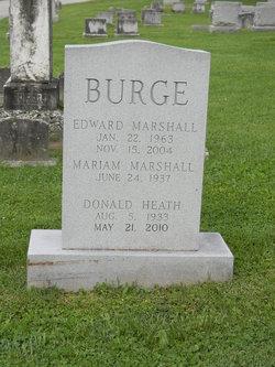 Edward Marshall Burge