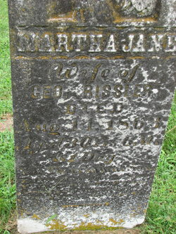Martha Jane <i>Morlan</i> Rissler